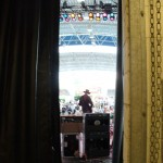 view from backstage waiting to go on