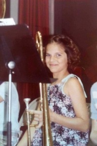 My first band concert with my 1950's King Cleveland horn at age 10